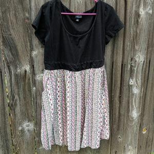 Torrid Dress Size 1 Empire Waist Shirt w Pockets